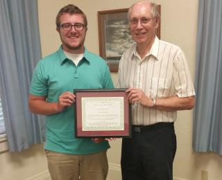 Waynesville HS Scholarship Recipient – Logan Clawson